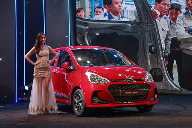 Hyundai Grand i10 lắp ráp trong nước ra mắt, giá từ 340 triệu đồng