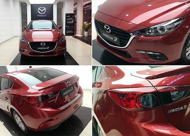 Mazda3 và Mazda6 tại Việt Nam có bị lỗi hệ thống phanh tay?