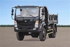 xe ô tô tải hoa mai, Xe tải ben Hoa Mai 6.45 tấn 2 cầu cabin mới