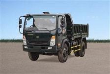 xe ô tô tải hoa mai, Xe tải ben Hoa Mai 6.45 tấn cabin mới