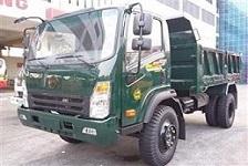 xe tải hoa mai trên 6 tấn, Xe tải ben Hoa Mai 6.45 tấn 2 cầu cabin mới