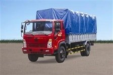 xe thùng hoa mai, Xe tải Hoa Mai 7.8 tấn thùng mui bạt
