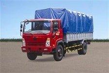 xe ô tô tải hoa mai, Xe tải Hoa Mai 7.6 tấn 2 cầu thùng mui bạt